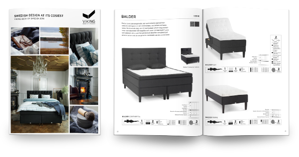 brochure Viking bedden